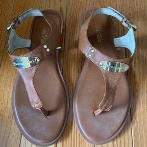 Michael Kors brown sandals